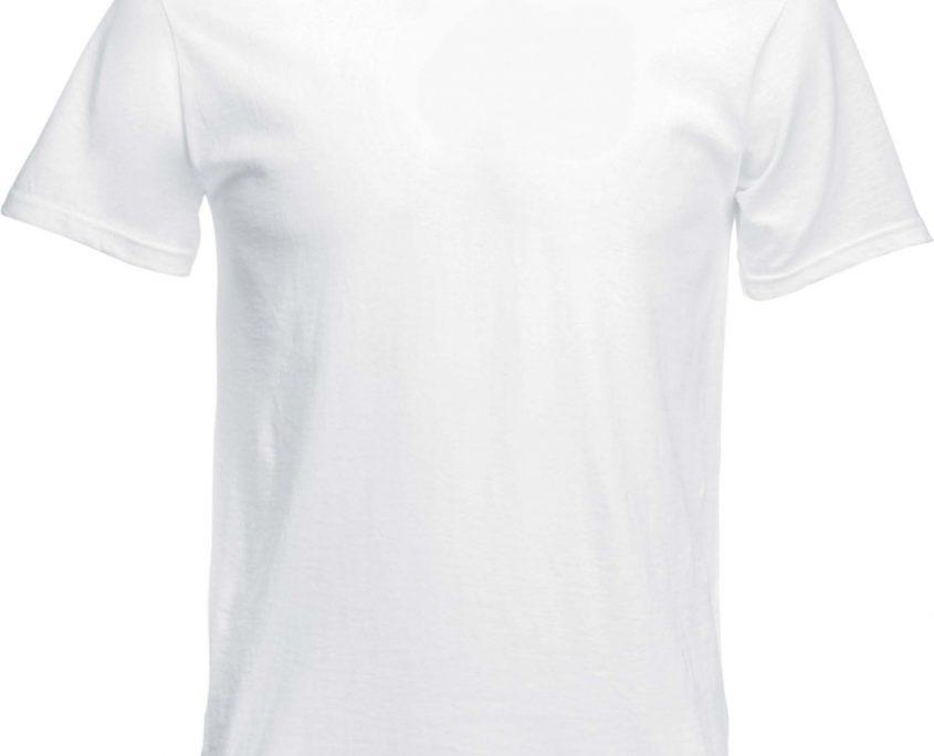 attentio tshirt bedrukken wit