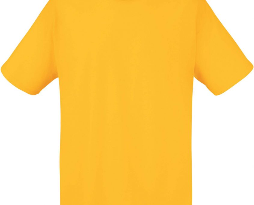 t shirt bedrukken SUNFLOWERYELLOW